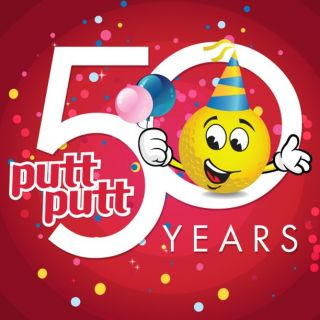Your Complete Guide to Putt Putt's 50th Birthday  Saturday September 21, 2019