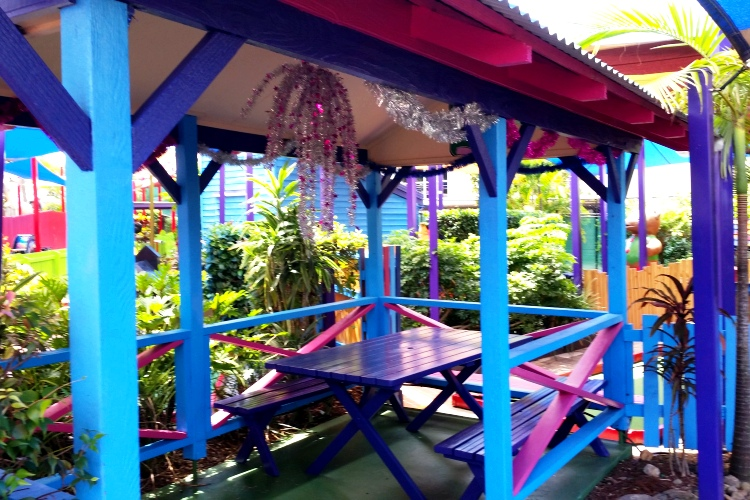Fun Run Hut at Putt Putt Mermaid Beach