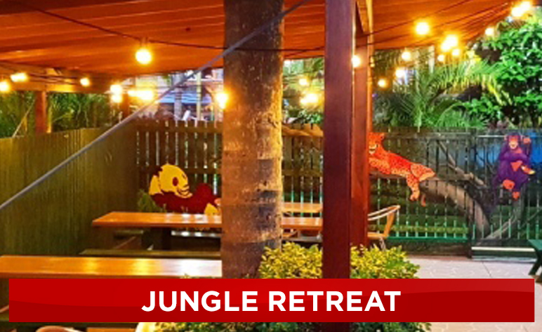 Jungle Retreat BBQ Zone