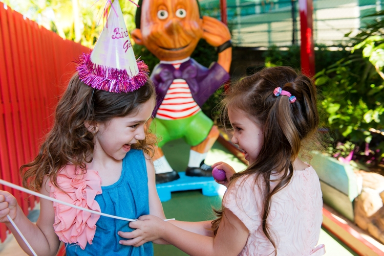 Kid's Party Packages at Putt Putt Mermaid Beach